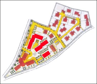 Kamillenhof - Lageplan